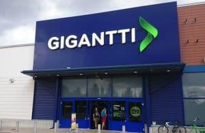 Магазины Гиганти в Лаппеенранте